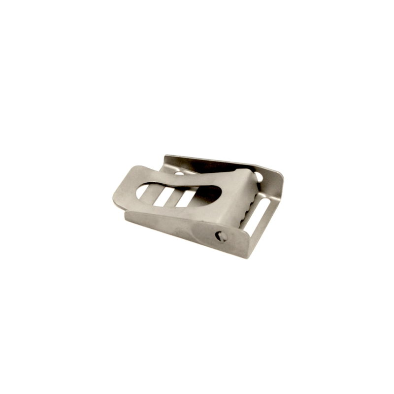 Titanium belt buckle